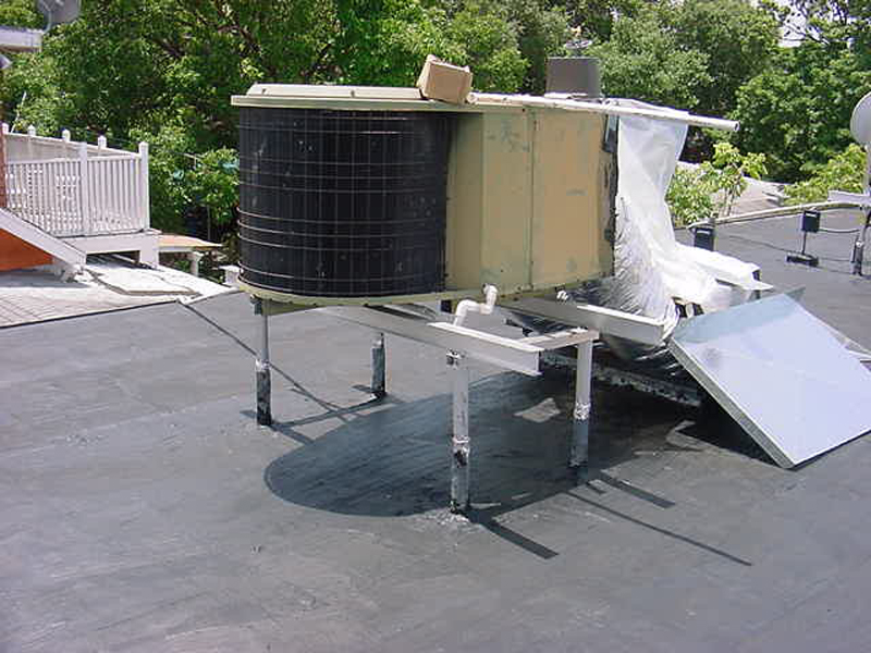 Avcoa for Ac condenser pad installation